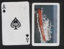 Advertising  playing cards Townsend Thoresen ferries